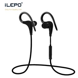 Wholesale Headset Hifi Earphones - New S9 Bluetooth Sport Earbuds Wireless Earphone Hook Neckband Headset Stereo Music Player For Universal Cell Phone with Mic Hifi Sound
