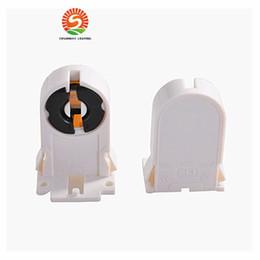 Wholesale T8 Tube Light Holder - AC 110-250V T8 G13 lamp Base socket LED Aquarium Lamp Holder Socket Adapter Snap-In  Slide-On for T8 g13 tube light