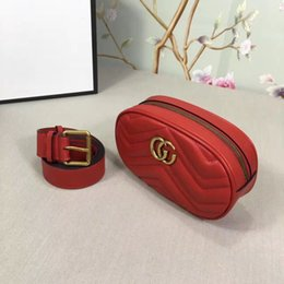 Wholesale Designer Real Leather Clutch - 2017 new arrival lady pockets From Italy's high-end luxury Waist Pack brand designer women handbags high quality real leather clutch bag