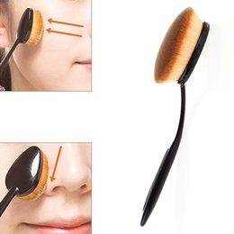 Top make-up pinsel gesetzt online-TOP Qualität Make-up Pinsel Set Mehrzweck Meerjungfrau Zahnbürste Foundation Puder Soft Face Brushes Professionelle Make-Up-Tools 10 PCS
