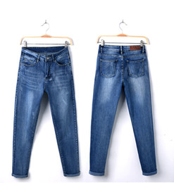 Wholesale Taper Sizes - Wholesale- Bf taper loose casual pants jeans female harem pants trousers summer plus size jeans