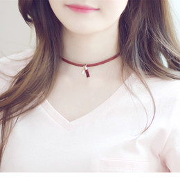 Wholesale Leather Bib Necklaces - New Hot sale Z choker necklace fashion necklace costume collar bib torques statement choker necklace N15