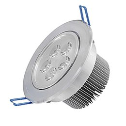 Wholesale 3w Power Led Driver - Jiawen 6pcs lot 3W 5W 7W 9W 12W Recessed LED Ceiling Light Warm white  cool white LED Downlights With Power Drivers