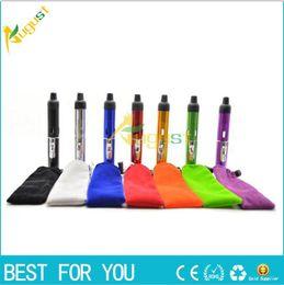 Wholesale Cheap E Cigs - cheap e cigs click N vape sneak A Herbal portable Vaporizer sneak a toke smoking metal lighter with built-in Wind Proof gas Lighter