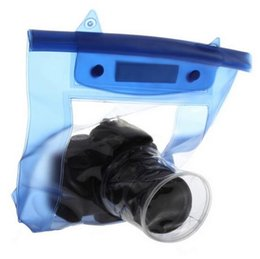 Wholesale Waterproof Digital Slr Camera Case - Wholesale- Hot Sale 20M Waterproof DSLR SLR Digital Camera Outdoor Underwater Housing Case Pouch Dry Bag For Canon For Nikon Hot Selling