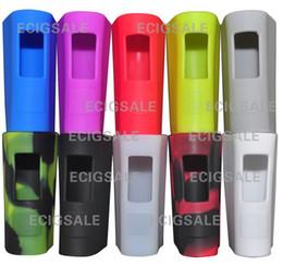 Wholesale Mega Covers - For eleaf istick PICO MEGA 80W E cig Electronic cigarette Silicone Case Skin Cover Bag Pocket Pouch Accessories Box Case