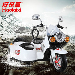 Wholesale Riding Cars Kids - Battery operated electric toy motorcycle for kid to drive,Kids toy car,Baby ride on toy,three wheeled motorcycle baby carriage