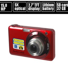 """Wholesale Face Detection - Wholesale-15.0MP mega pixls Optical zoom digital camera with 2.7"""" LCD Screen 5X optical zoom Face Detection Video function"""