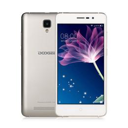 Wholesale Dual Sim Arabic Wifi Quad - DOOGEE X10 3G Smartphone 5.0 Inch Android 6.0 Quad Core 512MB RAM 8GB ROM Dual Sim 3360mAh Battery Wifi GPS