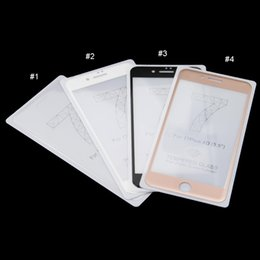 Wholesale Full Thickness - 3D Full Cover Tempered Glass Screen Protectors For iPhone7 iPhone7 plus 4.7inch and 5.5inch Thickness 0.3mm Hardness 9H with retail box 10pc
