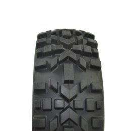 Wholesale Off Road Car Tire - RC 1 8 Scale Off Road Car Buggy RC Tires Tyre and Wheels Black 4PCS