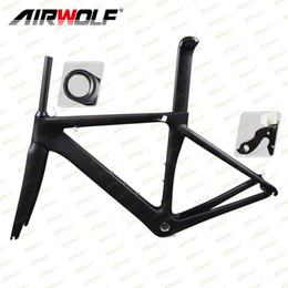 Wholesale carbon cable - 2018 carbon road frame Di2 and mechanical internal carbon road racing frame internal cable routing 3K carbon road bike frames