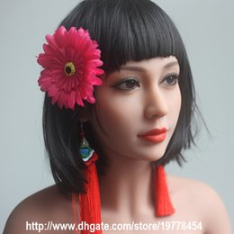 Wholesale Life Like Japanese Sex Dolls - New sexy real 145cm full life like size silicone sex doll toy for man metal skeleton oral anus pussy adult love product Asian
