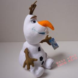 Wholesale Princess Baby Stuff - 2015 Frozen 22cm OLAF plush toys Snowman Doll cartoon Movie Stuffed Princess Elsa Anna Kristoff Trolls Milu baby Toy