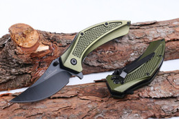 Wholesale United Blades - Newest United Cutlery Claw Karambit Titanium Pocket Folding Knife 5CR15MOV 57HRC Aluminum Handle Tactical Hunting Survival Knife Utility EDC