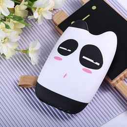 Wholesale Ups Bank - 20pcs By UPS Mobile Power Bank 7800mah Dual USB Lovely Cartoon powerbank external Battery Battery Portable Charger for all phone