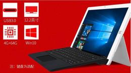 Wholesale Cube Quad Core - HOT sale 12.2'' IPS Cube Iwork12 Windows 10 Home + Android 5.1 Dual OS Tablet PC 1920x1200 Intel Atom X5-Z8300 Quad Core HDMI
