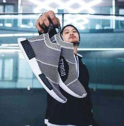 Wholesale Outdoor Sports Socks - New NMD_CS1 PK Runner City Sock Nmd Cs1 CS 1 Men Women Classic Running Shoes Fashion City Sock Cs1 Primeknit Grey Sports Sneaker