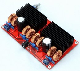 Wholesale parallel board - Freeshipping TDA7498 amplifier board 2.0 channel class D Parallel 2*TDA7498 amplifier 200W+200W