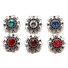 Wholesale Cheap Letter Charms - N08 wholesale cheap metal alloy snap bracelet noosa chunk ginger snap buttons women snap jewelry