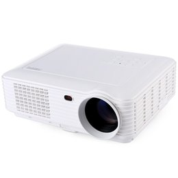 Wholesale led pixel lamps - Wholesale-Home Theater 3500 Lumens High Pixel Multimedia LCD Projector LED Lamp Manual focus Remote Control for Business Education Home