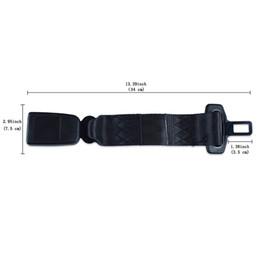 Boucle de ceinture universelle en Ligne-Boucle de ceinture de sécurité universelle Boucle de sécurité avec sangle de rallonge haute résistance