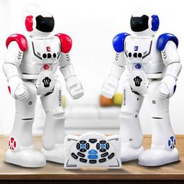 Wholesale Inductive Toy - RC Intelligent Robot Remote Control Smart Programmable Robots Walk Slide Dance Music Talk Demostration Interactive Inductive Robot Toys
