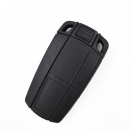 Wholesale Bmw Keyless Entry Remote - 10pcs,3 Buttons Fold Remote Car Key For BMW 3 5 Series X3 X5(E70),X6(E71),CAS1 2 3 3+ 315 433MHZ With 46 Electronic Chip+Logo