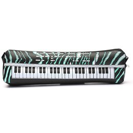 Wholesale Fun Digital - Wholesale- 24 inches PVC Inflatable Keyboard Piano Instrument Fun Party Music Toy Children Kids Black and White Gift