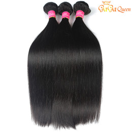 26 inch hair extentions Coupons - 8A Brazilian Hair Straight 4pcs Human Hair Weave Virgin Hair Bundles Unprocessed Brazilian Peruvian Indian Malaysian Straight Extentions
