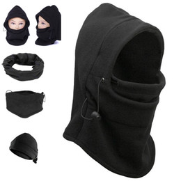 Wholesale Winter Scarf Cap - Windproof counter terrorism caps thickened caught wearing earmuffs CS Hat Balaclava face mask scarf winter wind and flying tiger Hat YYA557