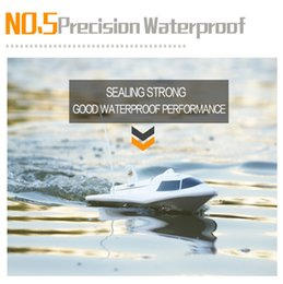 Wholesale Fly Fishing Boats - Wholesale- New Large Remote Control Boats 3CH High Powered 7.2V Toy Boat Plastic Model RC Flying Fish No.Outdoor Toys SEP 15
