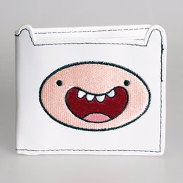 Wholesale Animated Wallets - Wholesale- Cartoon adventure time wallet adventure ended old dog Short animated cartoon girls boys wallet DFT-1212