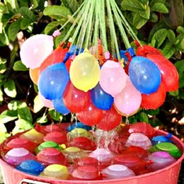 Wholesale Decoration Bunch - Water Filled Balloon Toy Bunch of Balloons Amazing Kid Magic Water Balloon Bombs Toys Filling Water Ballons Games Kids Decoration Party