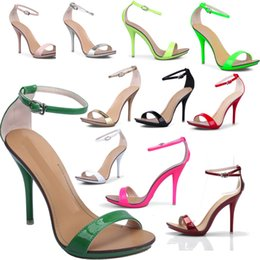 Wholesale Vogue C - New arrived Vogue 11Color women T-stage Classic Dancing High Heel Sandals party wedding shoes free shipping wholesale and retail 10.5
