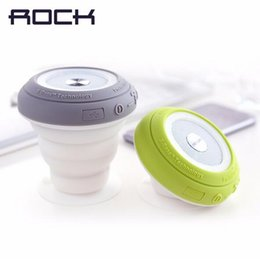 Wholesale Stands For Light - ROCK Pocket Party Bluetooth Speaker with Colorful Led Light Mini Portable Speaker Wireless Strong Bass Audio player