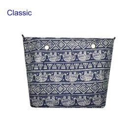 Wholesale O Handbag - Wholesale- 1PCS Classic O&O bag Canvas lining Interior Insert Lining Inner Pocket organizera suitable for obag Silicone handbag