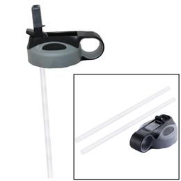 Coperchio di paglia adatto per 18oz / 32oz / 40oz / 64oz Borraccia in acciaio inossidabile a bocca larga isolata senza vuoto BPA da