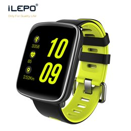 Wholesale Vehicle Ratings - GV68 Bluetooth smart watch wrist BLE 4.0 water proof IPS 1.22 big screen fitness tracking watch