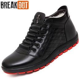 Wholesale Winter Warm Shoes For Men - Wholesale-2016 New Men Winter Boots Snow Boots for Men Ankle Boots Warm with Plush&Fur High Top Fashion Men Shoes