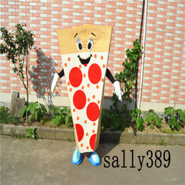 Wholesale Mascot Anime - 2017 new adult food pizza stage performance mascot doll costume props costume adult size