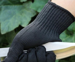 Wholesale Slash Gloves - Anti Stainless Steel Wire Safety Work Anti-Slash Cut Static Resistance Protective Gloves Polyester Fistfight Riot Gear
