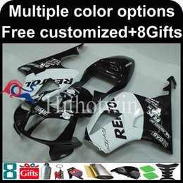 Wholesale Honda Rc51 Motorcycle - 23colors+8Gifts repsol Boda kit motorcycle cowl for HONDA RC51 VTR1000SP1 2000-2006 VTR1000SP1 00 06 ABS Plastic Fairing