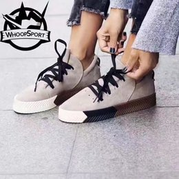 Wholesale Women Hip Hop Shoes - HOT!!! Unisex Men And Women Casual Shoes Ultra-Soft Suede Breathable Sneakers Hip Hop High Quality Footwear,Size:35-44 With Box