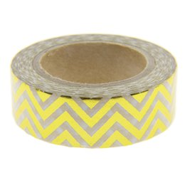 Wholesale Great Photo Gifts - Wholesale- 2016 New Foil Washi Tape Office Adhesive Scrapbooking Tools Kawaii For Photo Album Cute Decorative Great Christmas Craft Gift