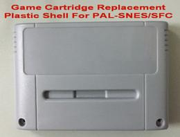Canada Coquille en plastique de rechange de cartouche de jeu de couleur grise pour la console PAL SNES et SFC Offre