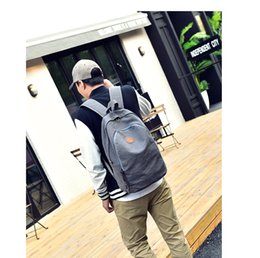 Wholesale Cheap Big Black Bags - New Male Briefcases Big Business Men Messenger Bags Canvas Women's cheap Travel shoulder Bags Men Shoulder Bags Black