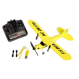 Wholesale Hobby Toy Airplane - Wholesale- New Christmas gift toy HL803 2.5 Channel RC Airplane Glider Remote Control Radio Plane Model Hobby Electric Toys free shipping