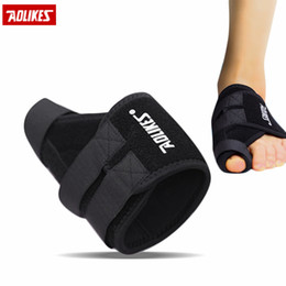 Wholesale Orthopedic Devices - Wholesale- Aolikes 1pc Left Right Hallux Valgus Thumb Correction Strap Comfortable Feet Device Foot Care Unisex Orthopedic