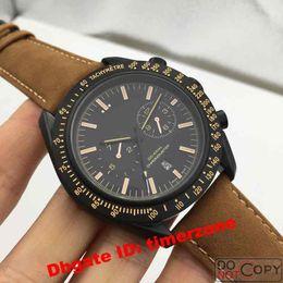Wholesale Moon Steel - Hot Brand Fashion Business Dress automatic watches brands men's watch Luxury DARK SIDE OF THE MOON Sport Wristwatch